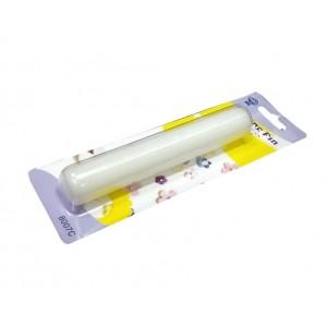 Скалка для мастики и марципана гладкая 15*2,5 см 14089