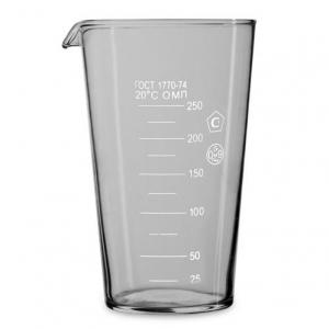 Мерный стакан 250 мл ГОСТ (мензурка) 867
