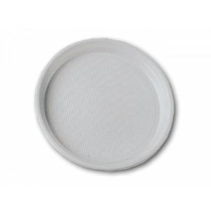 Тарелка одноразовая пластик 16,5 см БЕЛАЯ 100 шт
