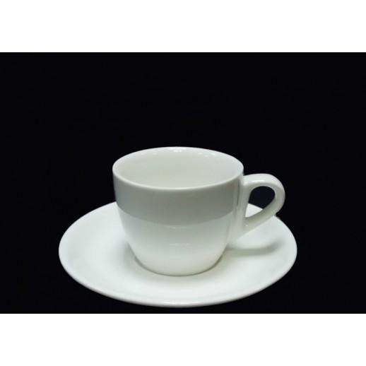 Кофейная пара 85 мл слоновая кость Китай 0185ФК, Кофейные чашки