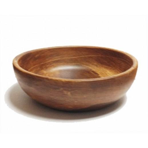 Салатница Медовая средняя 20*7,5 9/658, Деревянная посуда, плетёные корзинки, хлебницы