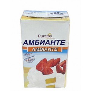 Крем на раст-жировых маслах АМБИАНТЕ 24% 1 л (сливки)