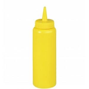 Соусник пласт. 375 гр желтый 1740