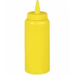 Соусник пласт. 700 гр желтый