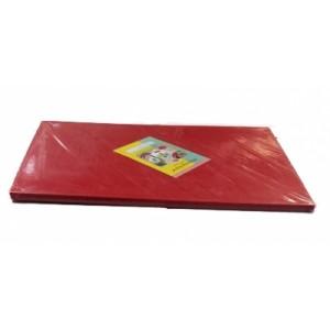 Доска разделочная п/п 600*400*18 мм красная
