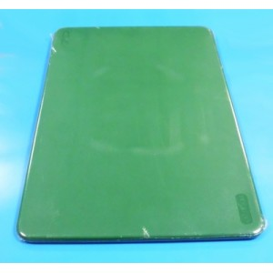 Доска разделочная 450*300*13мм пластмассовая зеленая