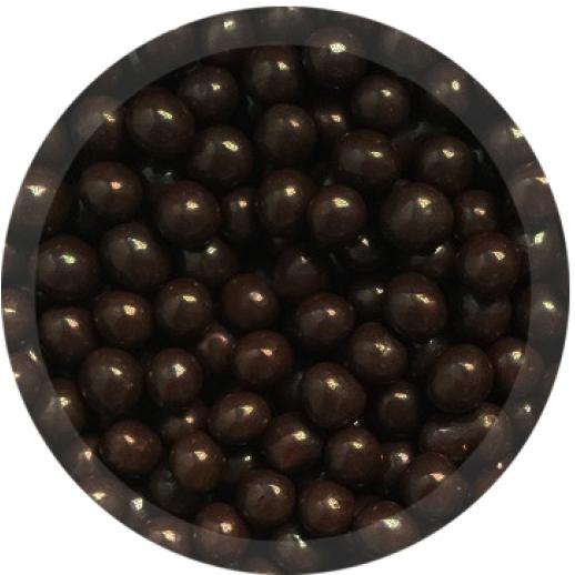 Шарики шоколадные КРАНЧ темные 100 гр 71129/71171, Украшения для торта, кондитерские посыпки