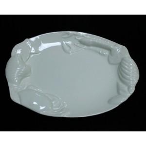 Блюдо Рак д/подачи рыбных блюд 36см Kunst Werk PL 99004104