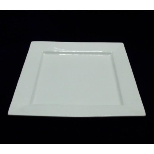 Тарелка квадратная 26*26см Kunst Werk PL 99004032, Фарфоровая посуда KUNST WERK P. L.