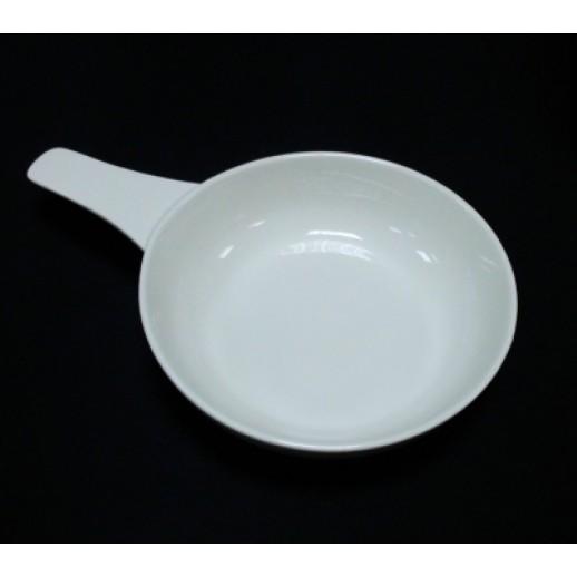 Салатник круглый с ручкой d 16,5см Kunst Werk PL 99004119, Фарфоровая посуда KUNST WERK P. L.