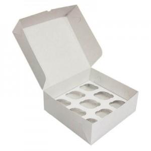 Упаковка для капкейков на 9 шт 250*250*100