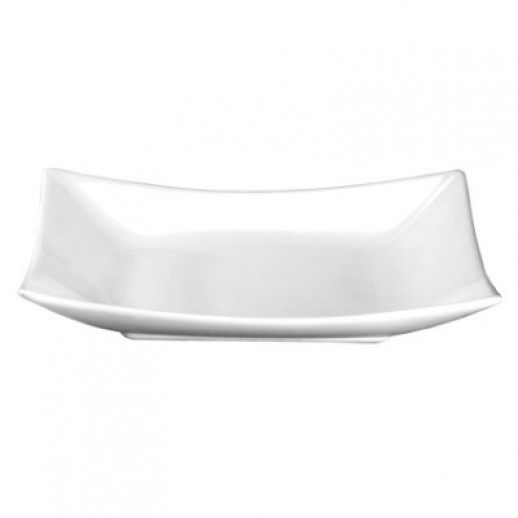 Тарелка квадратная 26,5*26,5 см Киото Вайт  (Н2022А/РТ212), Японская посуда для суши-бара