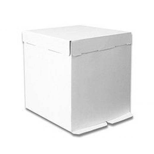 Короб картонный бел Pasticciere 300*300*300 мм EB300L, Тортницы, коробки для торта и пирожных