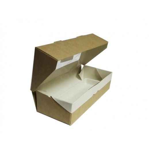 Упаковка ECO TABOX 500 170*70*40, Картонная упаковка, бумажные крафт пакеты