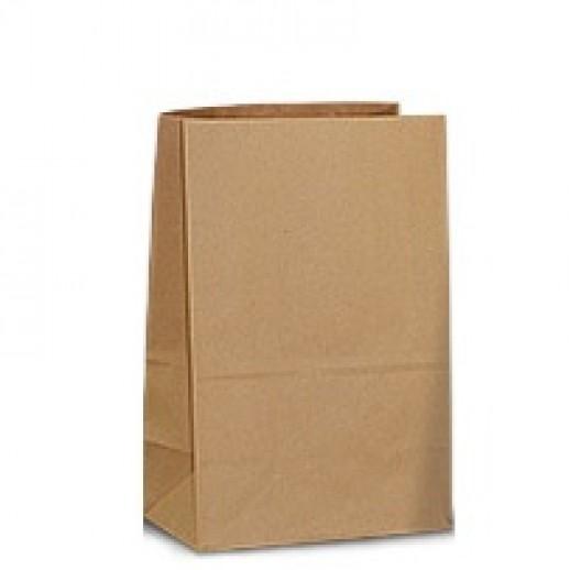 Упаковка ECO BAG 22*12*29 см без ручек, Картонная упаковка, бумажные крафт пакеты