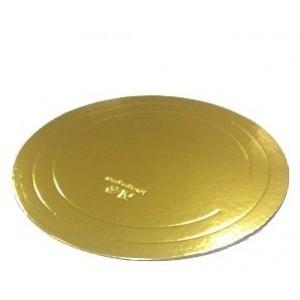 Подложка усилен золото/жемчуг 260мм (толщ3,2мм) GWD260