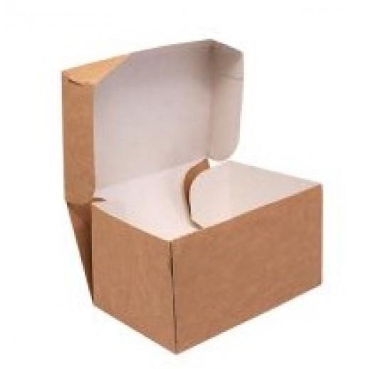 Упаковка ECO CAKE 1200 150*100*85 мм, Картонная упаковка, бумажные крафт пакеты