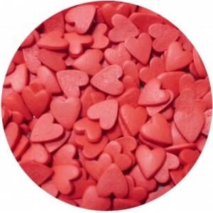 Посыпка Сердечки красные большие 250 гр 16076