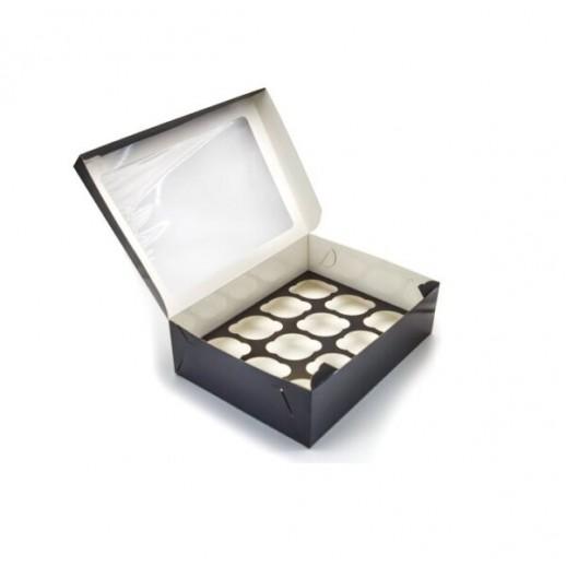 Упаковка ECO CAKE 1200 Black Edition 150*100*85 мм, Картонная упаковка, бумажные крафт пакеты