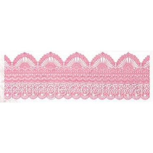КРУЖЕВО сахарное розовый перл 1шт 55228