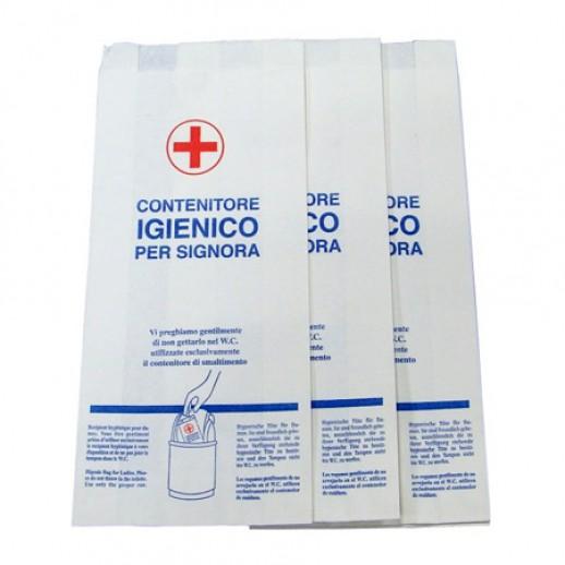 Гигиенический пакет бумажный 12*26 Лайм 1 шт А99942
