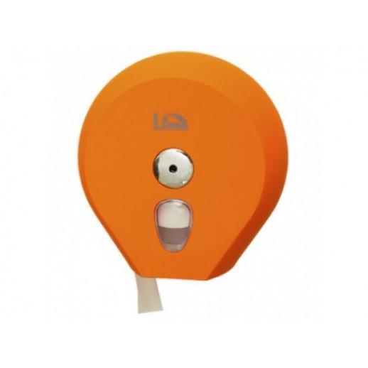 Диcпенсер для туалетной бумаги 200 м Lime  COLOR оранжевый, Туалетная бумага, бумажные полотенца