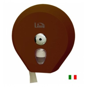 Диcпенсер для туалетной бумаги 200 м Lime  COLOR коричневый