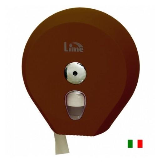 Диcпенсер для туалетной бумаги 200 м Lime  COLOR коричневый, Туалетная бумага, бумажные полотенца