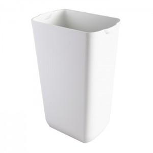 Prestige Корзина  для мусора напольная 8 л. подвесная белая