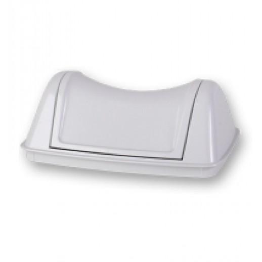 Prestige Плавающая крышка для корзины  8 л белая, Туалетная бумага, бумажные полотенца