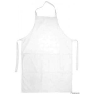 Фартук цельнокроенный короткий белый тк ГОСТ 1480