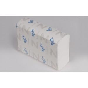 Полотенца листовые Z 2-слойные супербелые 150 л НРБ-Барская 20/уп 25Z232