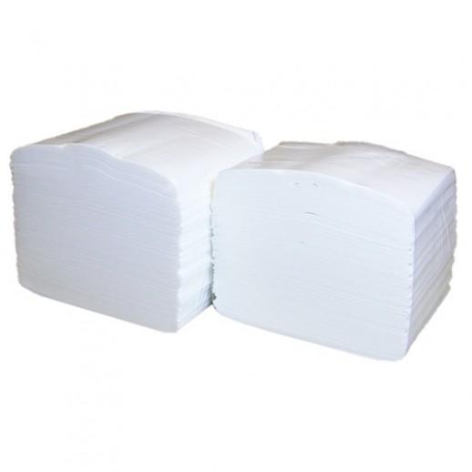 Туалетная бумага листовая 2-слойная белая 200л Lime короб 250890