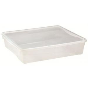 Контейнер для продуктов прямоугольный 9 л  40*33,5*8,5 см п/п Кристалл 433247301