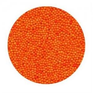 Посыпка сахарная шарики оранжевые 1 мм 100 гр 19923