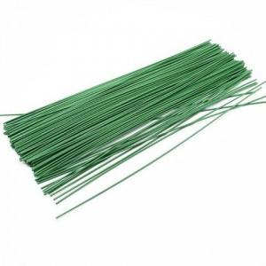 Кондитерская проволока темно-зеленая 25 см d 0,7 мм 10 шт 12323