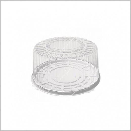 Тортница с крышкой круглая 218*125, Тортницы, коробки для торта и пирожных