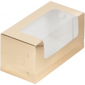 Упаковка для кекса 200*100*100 мм крафт 073005