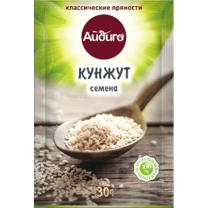 АЙДИГО Кунжут белый 30 гр