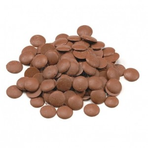 Шоколад Молочный 32% Ариба Мастер Мартини диски 100гр 34/36 Италия