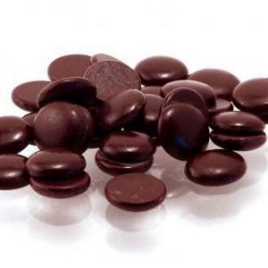 Шоколад Темный 54% Ариба Мастер Мартини диски 100гр 32/34 Италия
