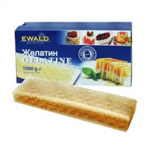 Желатин листовой EWALD 1000 гр 120 блум 2583