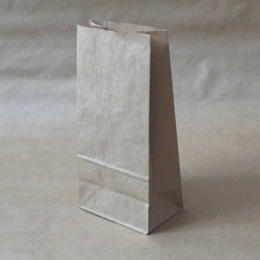 Упаковка пакет бумажный прямоуг дно крафт 240*120*75, Картонная упаковка, бумажные крафт пакеты