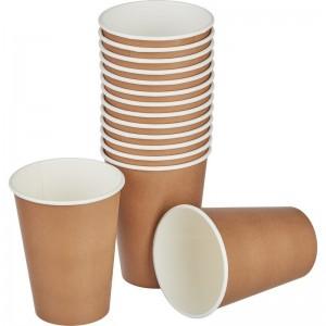 Стакан одноразовый для кофе КРАФТ 300 мл 50 шт 10620