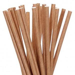 Трубочка биоразлагаемая 19,5 см ECO Straw 100 шт