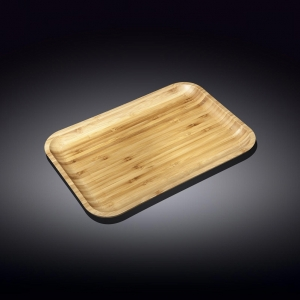 Вилмакс Блюдо для подачи  прямоуг 20,5*10 см бамбук