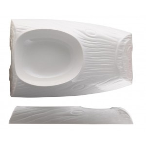 Блюдо 30*20 см внутр 17*14см 450 мл Oyster PL 81200077