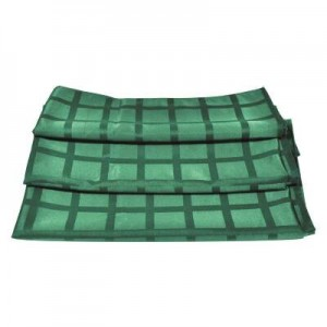 Салфетка 43*43 см темно-зеленая PL 99003573