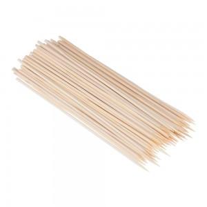 Шампурочки бамбук/береза 25 см 100 шт Китай 10-3027