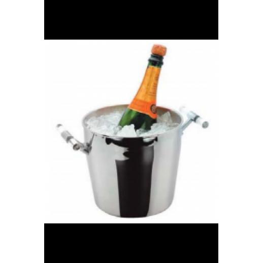 Ведро для шампанского нерж  PL95001239, Барные принадлежности